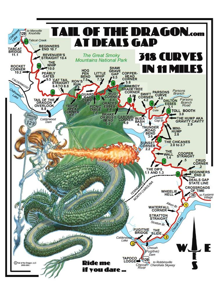 129 Best Best Gifts For 6 Year Girls Images On: 59 Best Tail Of The Dragon Highway 129 Tennessee Images On