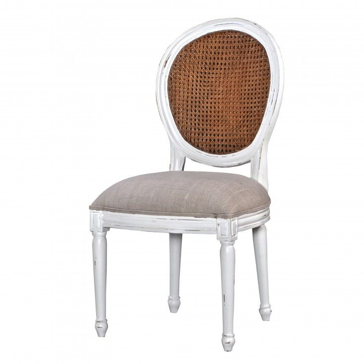 Exeter Cane Back Upholstered Chair   White Distress   #Piccadilly. The  CaneUpholstered ChairsExeterPlatypusLiving ...