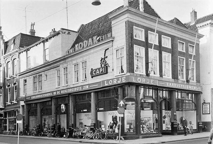 Herestraat hoek Kleine Pelsterstraat in 1967 - Foto's SERC