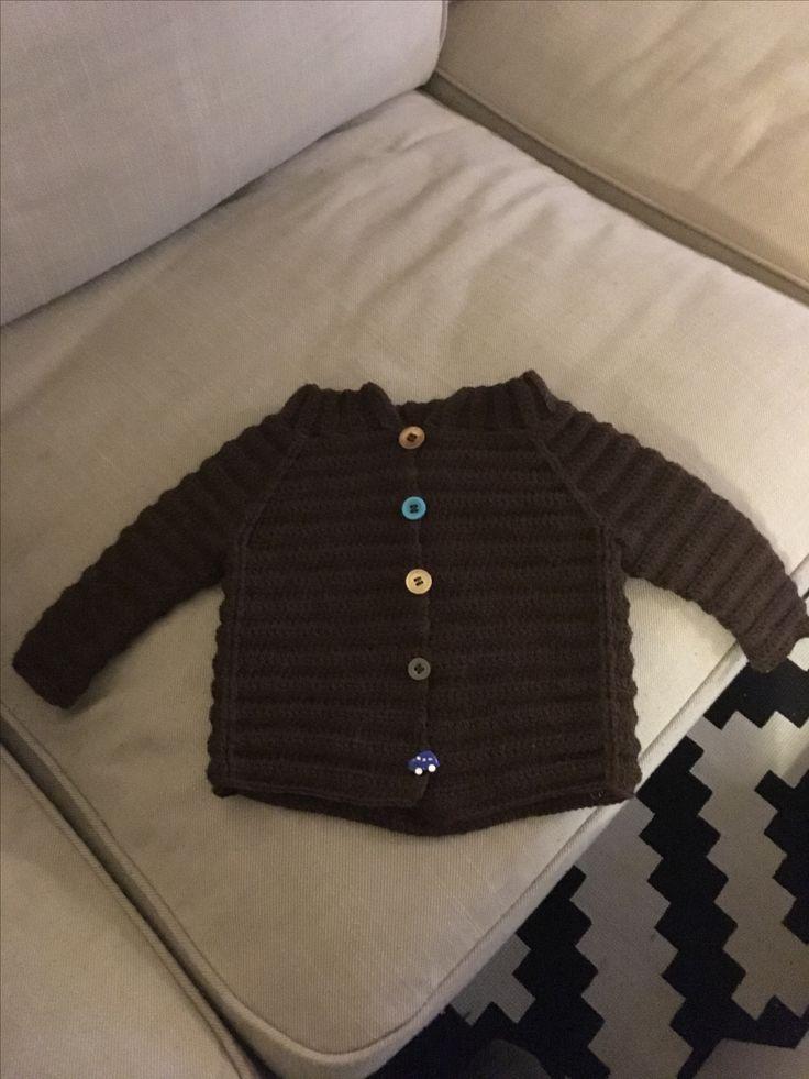 Baby Cardigan 💙 Hæklet i EngleUld fra Tusindfryd. Elsemarie Asmussen