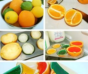 Fruit Jello Shots