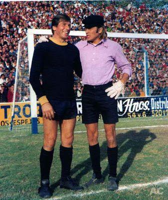 Antonio Roma & Hugo Gatti. Dos estilos, dos grandes ídolos de Boca Júniors.