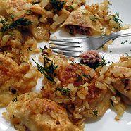Pierogi with meat filling recipe