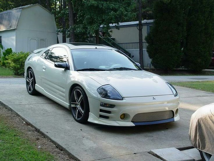 Pearl White Monster 3g Mitsubishi Eclipse Her stance and ... Mitsubishi Eclipse 3g Wallpaper