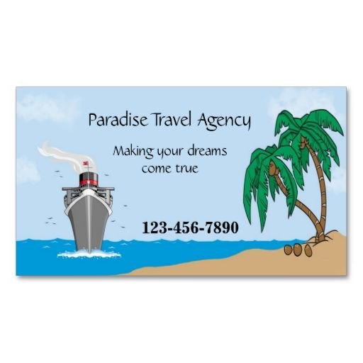 16 best travel agent business cards images on pinterest carte de travel agency business card reheart Choice Image