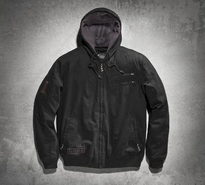 Men's Machine Bolt Hooded Jacket #HDofFrederick