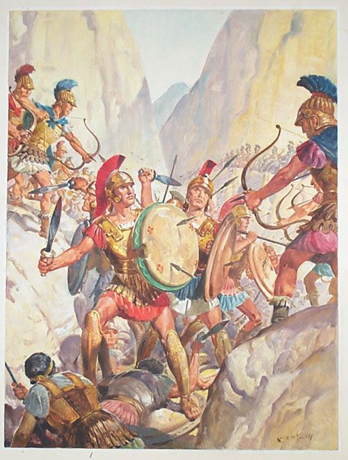 a history of the battle of thermopylae How can the answer be improved.