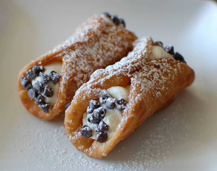 How to make homemade Cannoli shells and filling - easy at home instructions!