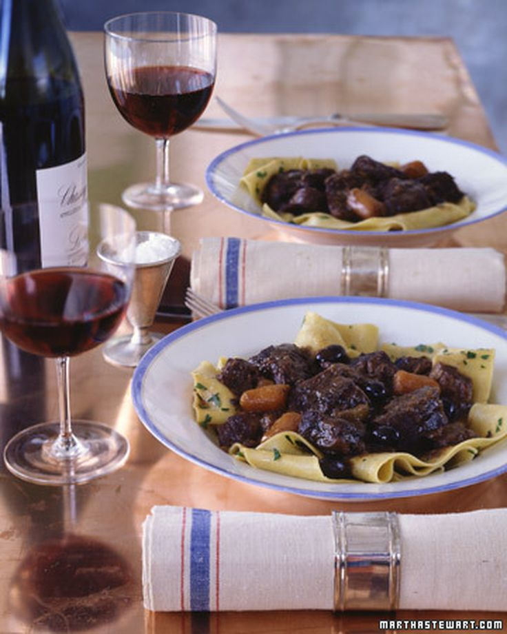 Daube De Boeuf Provencal Martha Stewart Living In This Classic French Stew Beef