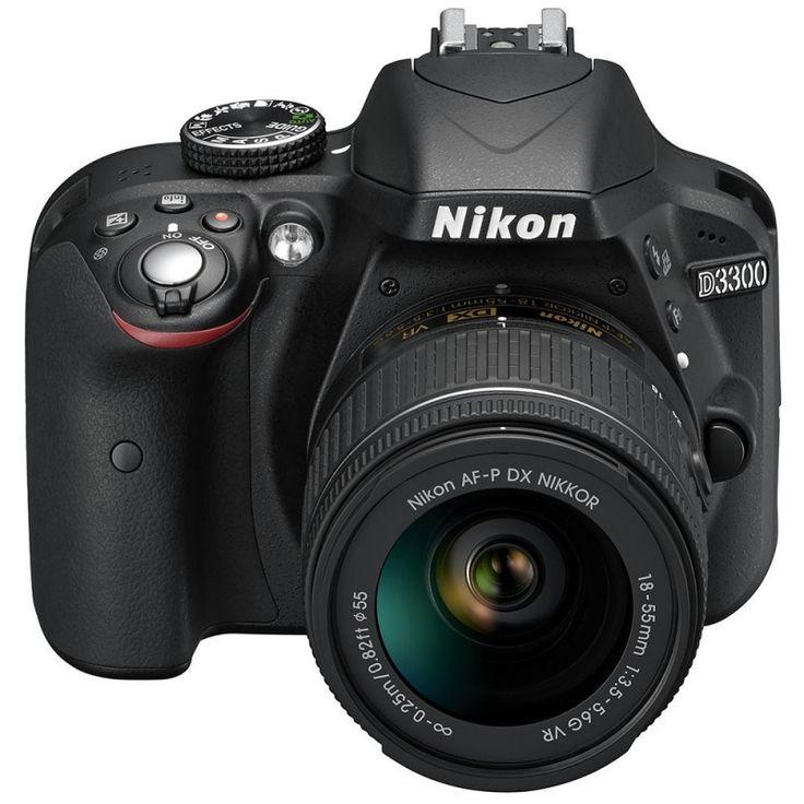 Fotocamera Digitale Reflex Nikon D3300 Kit + AF-P 18-55mm Nikon VR - Solodigitali