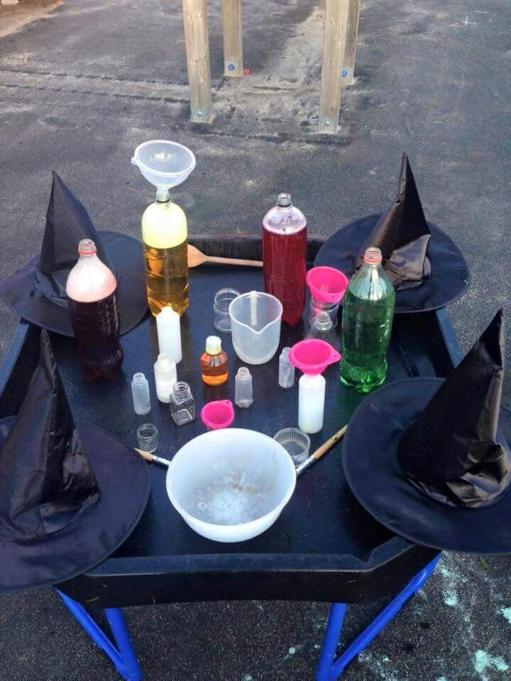 Potion Making Autumn Room On The Broom Halloween