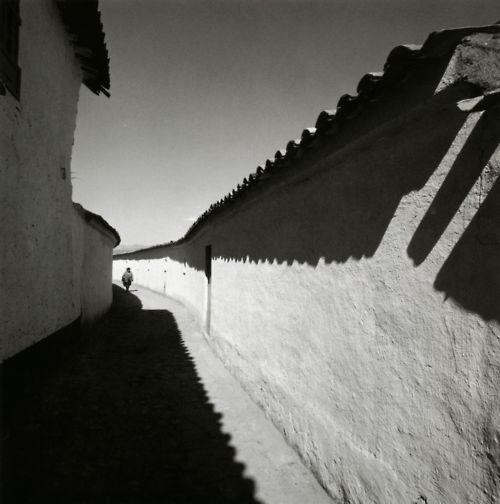 Harry Callahan  Cuzco, 1974  Gelatin silver print  From Harry Callahan: The Photographer at Work
