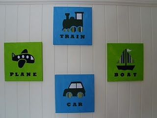 Planes, Trains, and Cars Wall Art