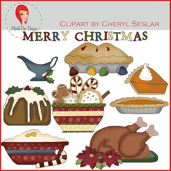 clipart christmas dinner pictures - photo #28