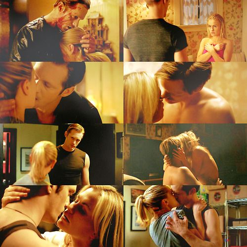 Eric and Sookie - True Blood. Alexander Skarsgard and Anna Paquin.