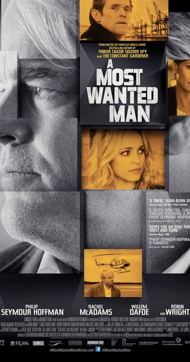 A MOST WANTED MAN. Tension free Le Carre adaptation, with a star studded US cast pretending to be Euro. 2 stars