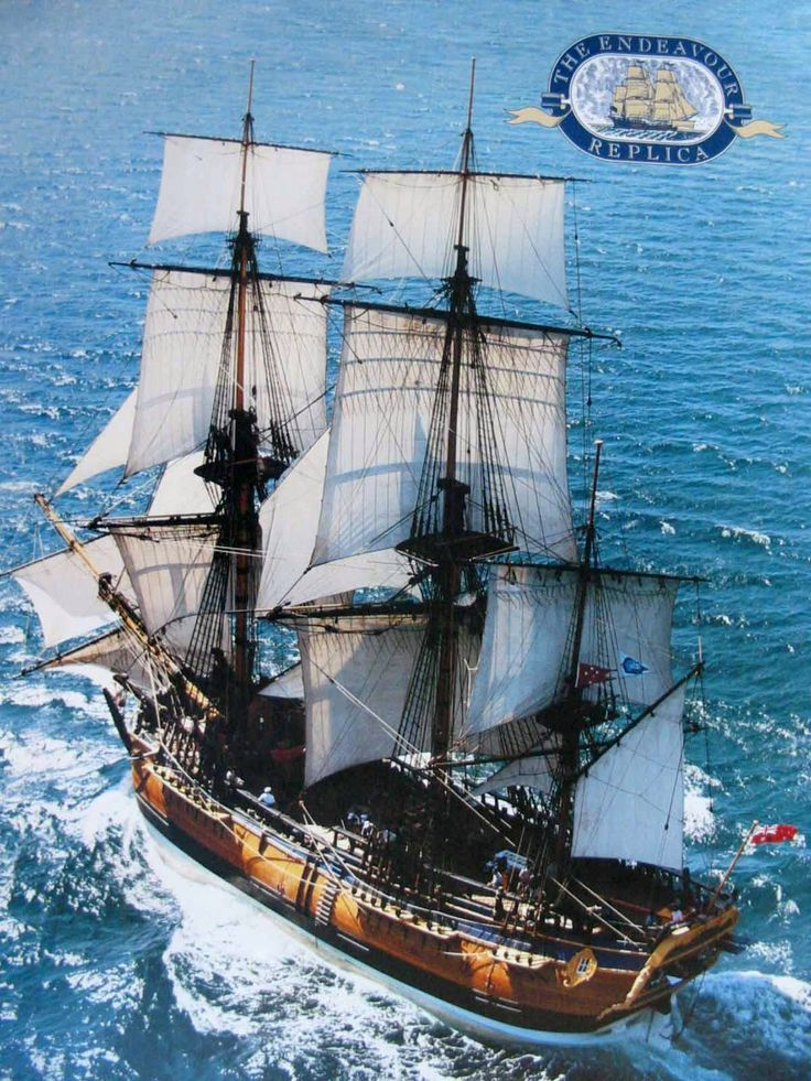 The most important ship in the history of New Zealand and Australia is Captain James Cook's 106 ft (32 metres) long barque Endeavour.