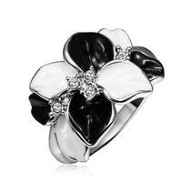 KR498 링 18 천개 골드 아름다운 반지 18 천개 골드 인기있는 보석 반지 도매 가격 무료 배송 ghjstzvr