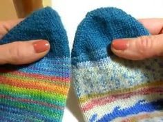 It's the simplest sock I ever knitted …