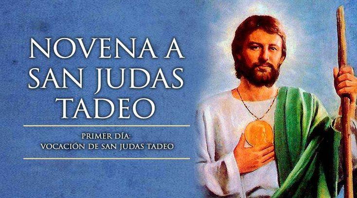 Primer Día de la Novena a San Judas Tadeo