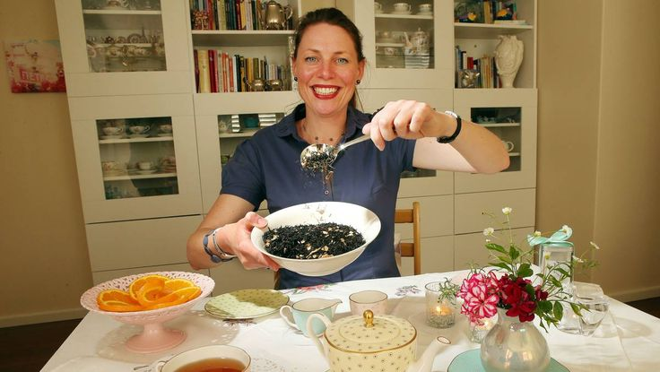 Wollongong tea master's special blend for former Australian High Court  judge.