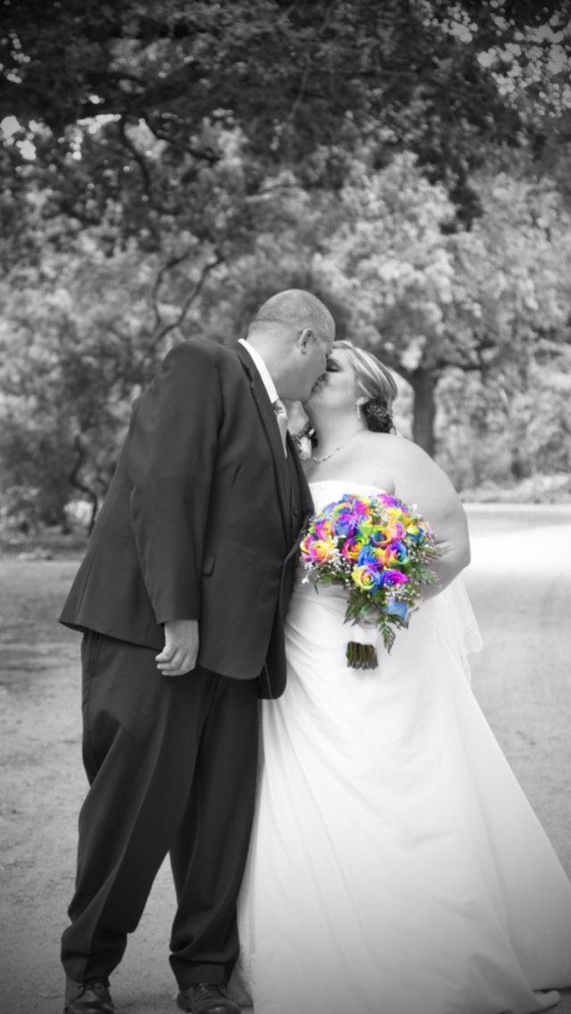 Kim and Hayden's beautiful wedding