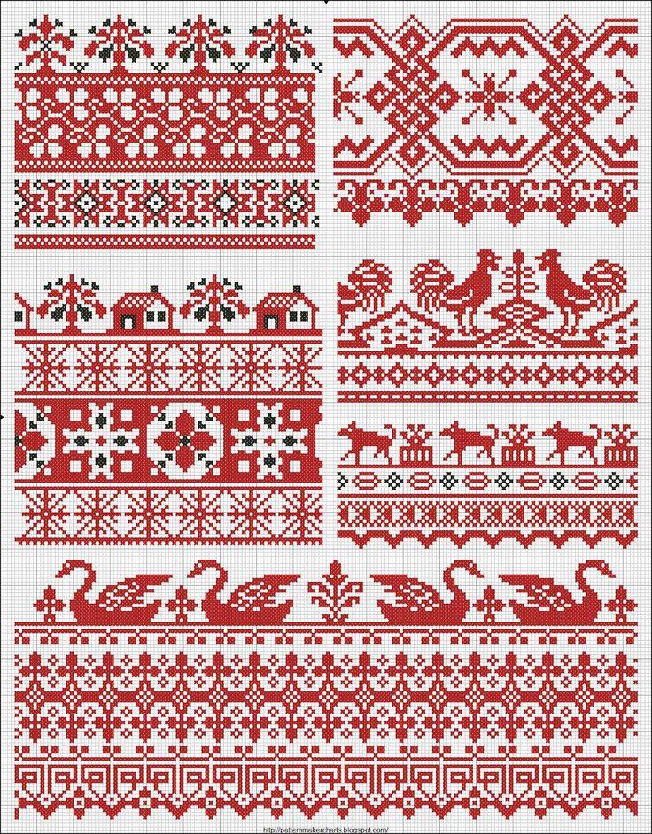 Free vintage cross stitch patterns