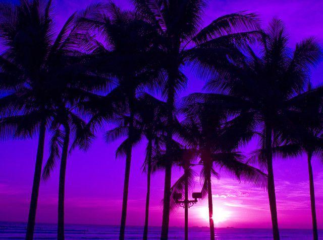 Waikiki sunset.