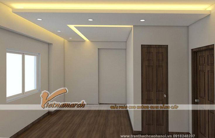 Thiết kế Trần thạch cao phòng ngủ của bố mẹ
