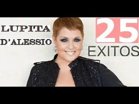 LUPITA DALESSIO EXITOS 25 GRANDES EXITOS MIX - YouTube