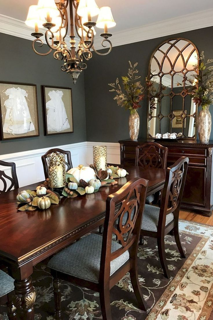 Table Dining Table Living Room Chair Furniture Interior Design In 2020 Elegant Dining Room Dining Room Decor Traditional Dining Room Paint