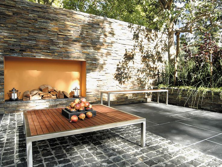 Eco Outdoor Grampians stone wall panel feature wall. | Eco Outdoor | Grampians…