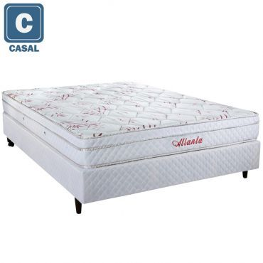 [ricardus] Cama Box Herval + Colchão Atlanta Bambu Mola - Queen R$ 798 - Normal R$ 595