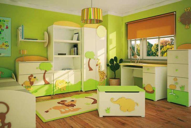 Интерьер малеханькой детской комнаты