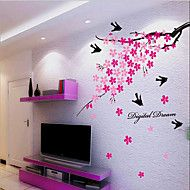 huis van kinderkamer / slaapkamer muur sticker verwijderbare diertje's – EUR € 7.99