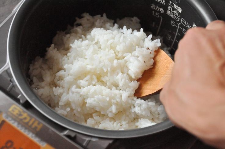 炊飯器ご飯