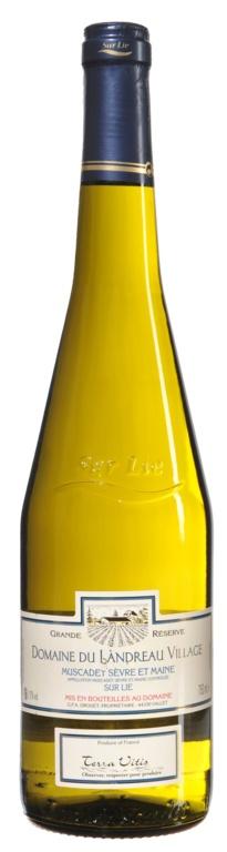 """MyGoodWines - Muscadet sur lie """"Domaine Landreau Village"""" - Vin du Val de Loire"""