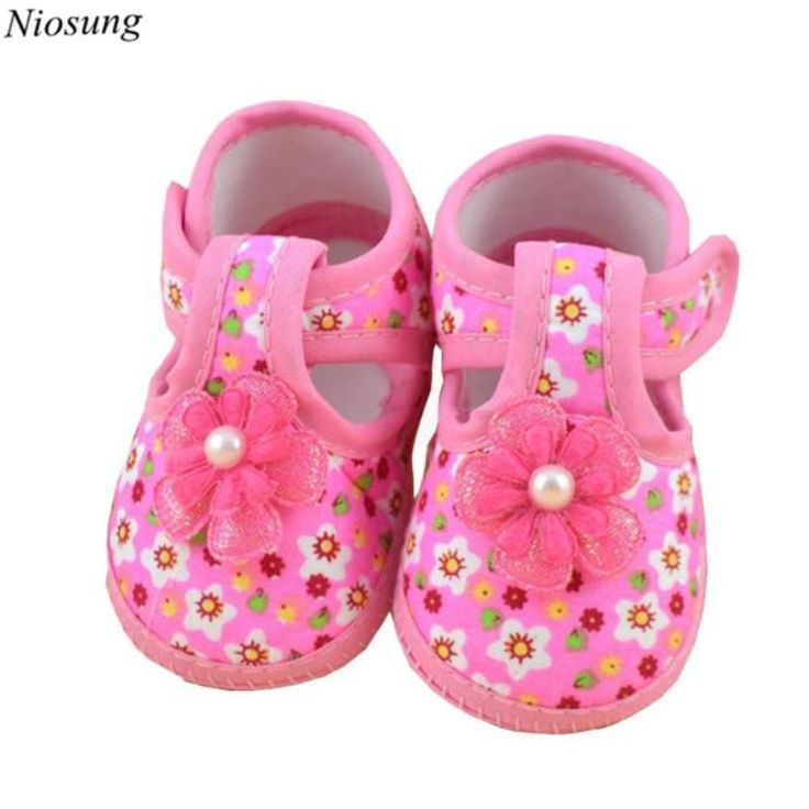 >> Click to Buy << New Baby Flower Boots Soft Crib Shoes Baby Girl Kid Shoes Soft Sole Sneaker Toddler Shoes wholesale #Affiliate