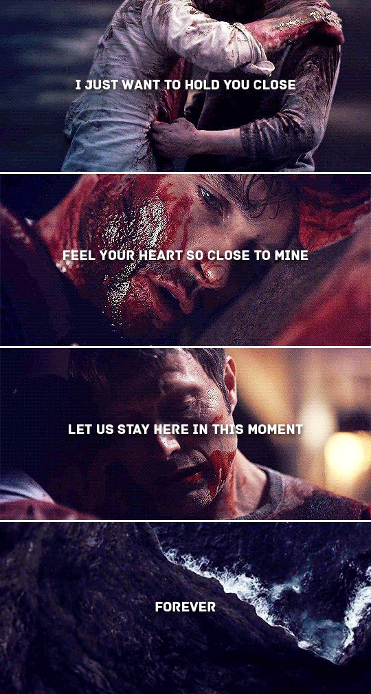 every moment with you is a moment i treasure #hannibal