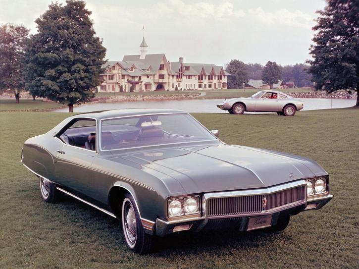 Ordinaire 1970 Buick Riviera.