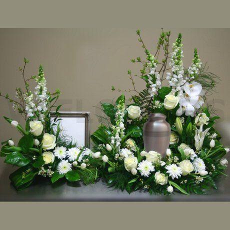 Cremation urn flowers sympathy