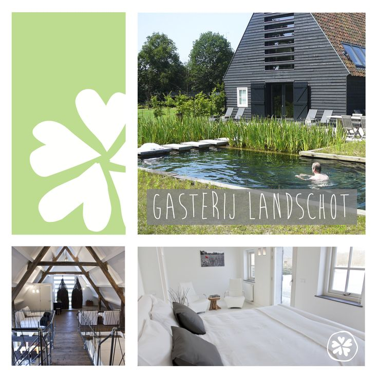 Nieuw adresje: Gasterij Landschot. Hier kun je overnachten en relaxen want in hetzelfde gebouw is BoerderijSpa Hoogeloon gevestigd. Een kleinschalig wellnessconcept met bijzondere behandelingen.
