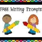 FREE Writing and Illustration Prompts  Includes 13 Writing Prompts, each with a different framed space for illustrations.  Prompts includes topics ...