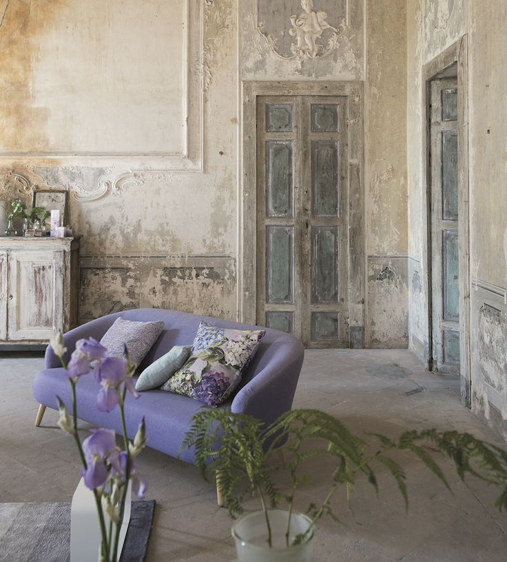 Rustic Living | Sudara Fabric By Designers Guild | Jane Clayton