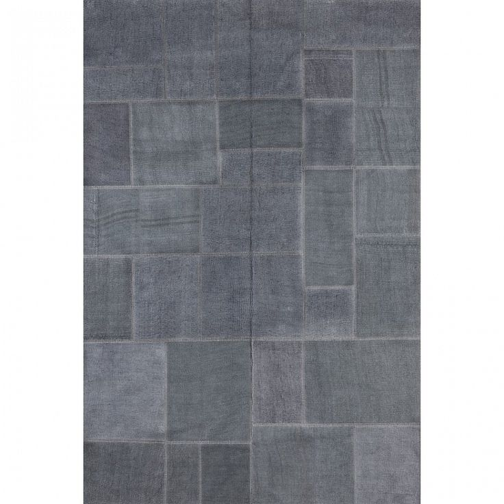 Dark grey modern Italian luxury rug Milano by Sitap