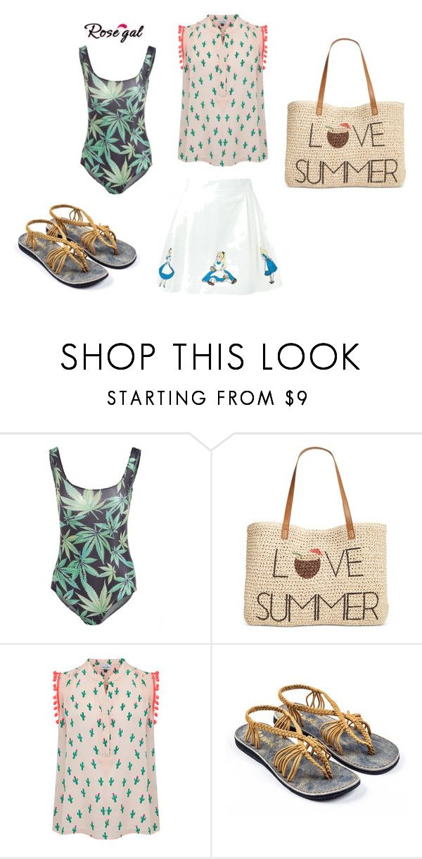"""""""Untitled #4402"""" by bellagioia ❤ liked on Polyvore featuring Style & Co., Mercy Delta and Olympia Le-Tan"""