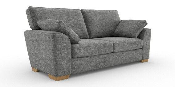 Next Stamford Large Sofa In Boucle Dark Grey Sofa Large Sofa Small Sofa