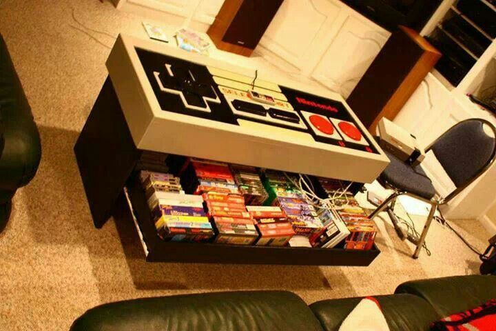 Nintendo table! who wouldnt love this.