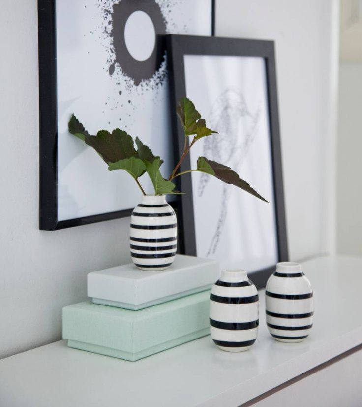 """Niedlich: Vasen-Set """"Omaggio"""" Mini von Kähler Design in bunten Farben. Designlieblinge jetzt bei Stilherz.de bestellen!"""