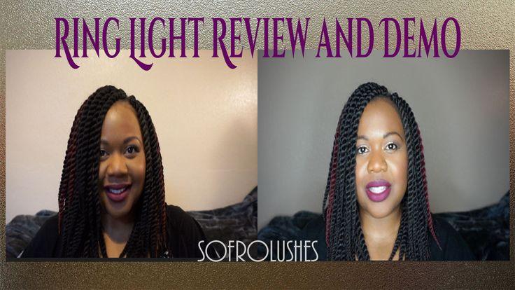Ring Light review demo #divaringlight #ringlight #lighting #video #photography